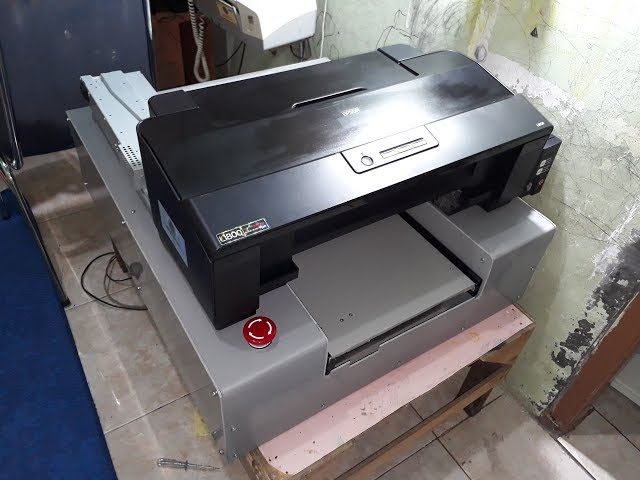 How to make DTG printer A3 L1800