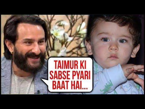 Saif Ali Khan Reveals The Cutest Thing About Taimur Ali Khan
