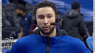 Ben Simmons Says He is the Best Defensive Player in the League - Mavericks vs 76ers | Feb 25, 2021