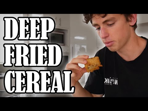 Breakfast But It's All Deep Fried