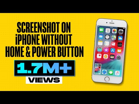 Take Screenshot on iPhone Without Home and Power Button