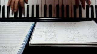 前のアルバムに収録されていた安田章大のソロ曲「わたし鏡」を耳コピし...