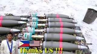 This month the Philippine military has received a number of military equipment from the US