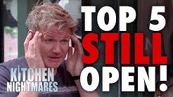 TOP 5 Restaurants That Are Still Open | Kitchen Nightmares