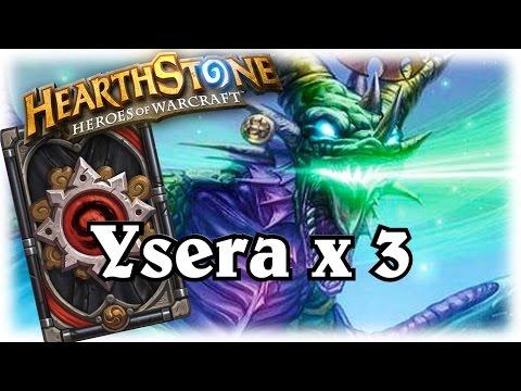 Tripple Ysera Threat ~ Hearthstone Heroes of Warcraft Blackrock Mountain with WOWHOBBS