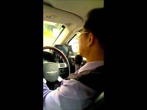 Karaoke Taxi Driver in Singapore