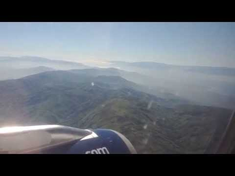 Flying Into Port-au-Prince, Haiti - See Haiti From The Air!