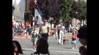 Alturas Fandango Days Parade Modoc County California