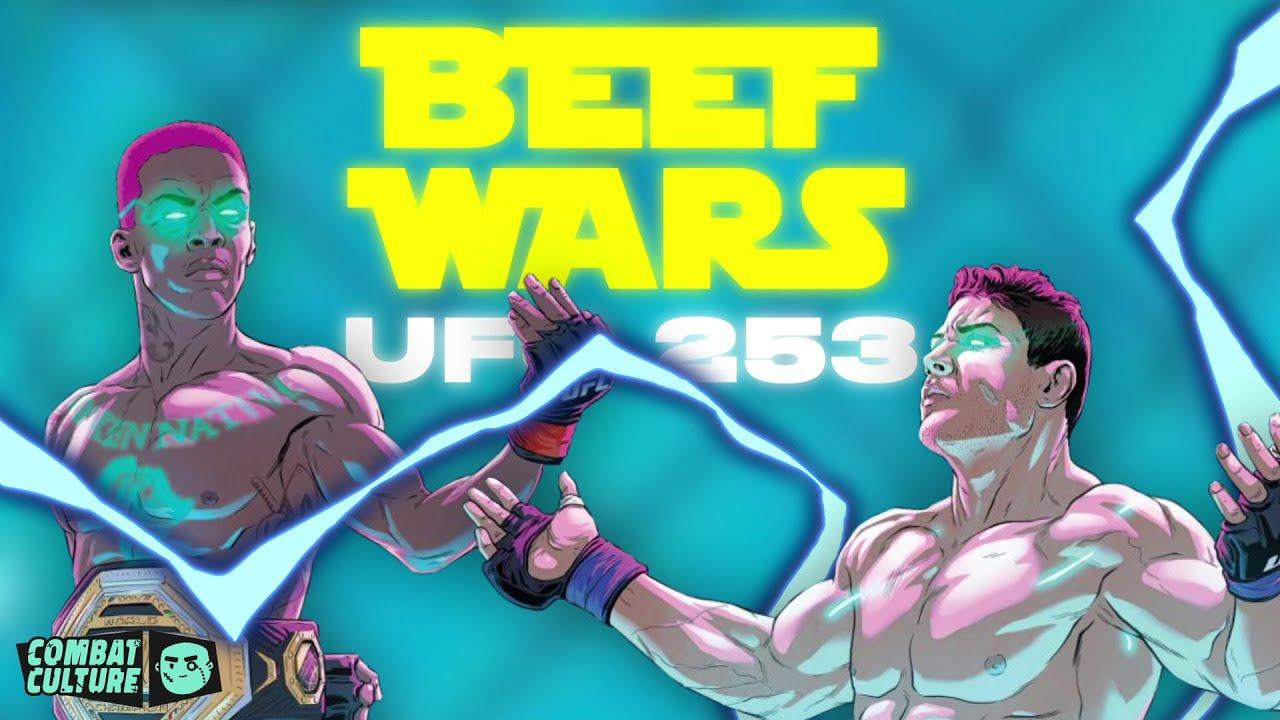 israel adesanya vs paulo costa beef wars ufc 253