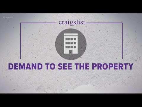 How To Avoid Rental Scam On Craigslist Youtube