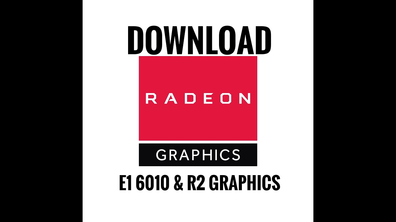 How To Download Install Amd Radeon Settings On Amd E1 6010 With R2 Graphics Youtube