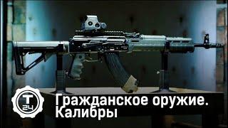 Калибры   Гражданское оружие   Т24