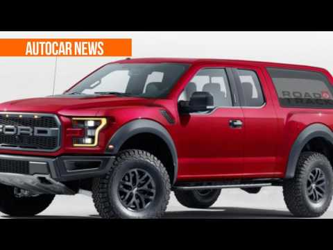 HOT NEWS! 2020 Ford Bronco Panel Van Concept