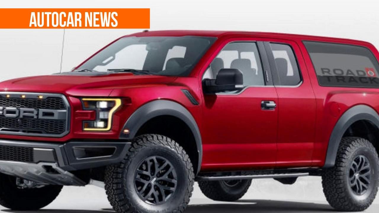 Hot News 2020 Ford Bronco Panel Van Concept Youtube