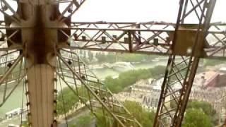 Wieża Eiffla wjazd windą + widok \ Eiffel Tower + view