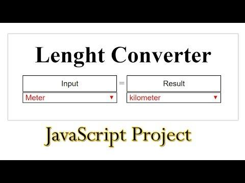Javascript Length Converter