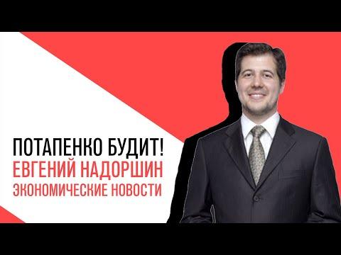 «Потапенко будит!», Евгений Надоршин, Обсуждение актуальных экономических новостей