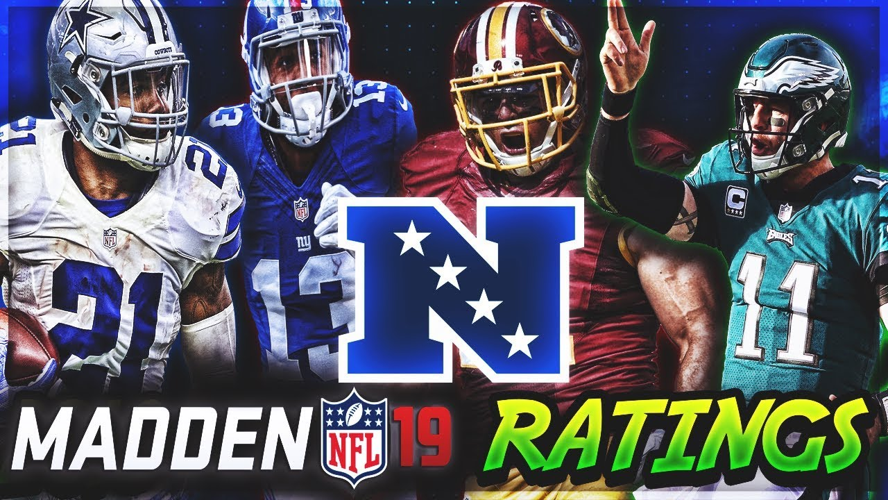 NFC EAST Madden 19 Player Ratings | c4's Custom Madden 18 Rosters