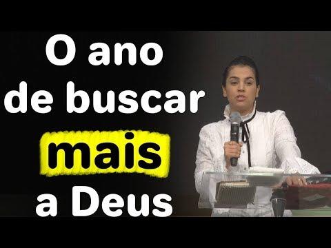 Camila Barros -  Pregação Busque mais a Deus