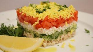 Слоеный салат