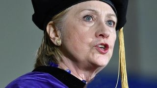 Hillary Clinton uses commencement address to attack Trump
