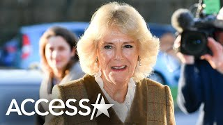 Camilla Duchess Of Cornwall Replies 'Of Course' When Asked If She'll Miss Harry And Meghan