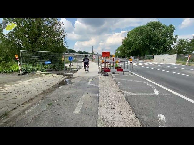 Opening fietstunnel Jubellaan-Colomalaan