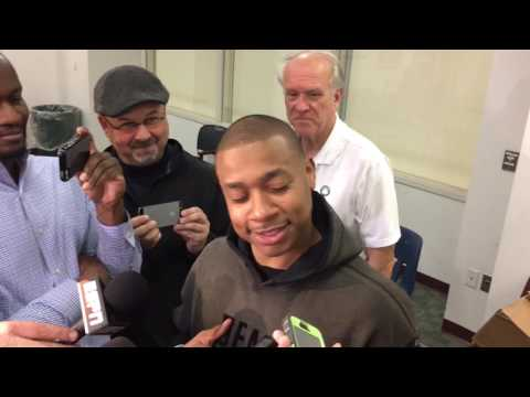 """Isaiah Thomas calls it """"BS"""" that Boston Celtics' Brad Stevens isnt Coach of the Year candidate"""