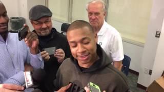 "Isaiah Thomas calls it ""BS"" that Boston Celtics"