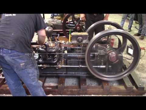 """Coolspring Power Museum - """"Jointer"""" Tandem Double Acting Engine"""