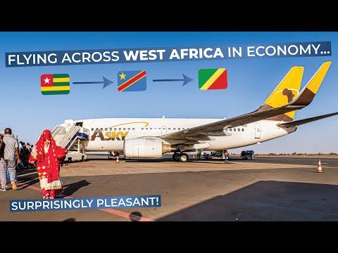 TRIPREPORT   Asky Airlines (ECONOMY)   Lomé - Kinshasa - Brazzaville   Boeing 737-800