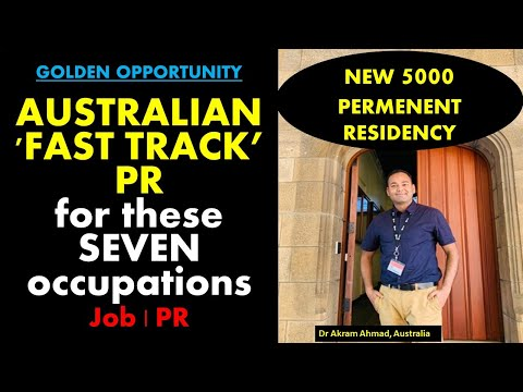 AUSTRALIA To 'FAST TRACK' Permanent Residency (PR) For These Highly-skilled Occupations