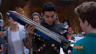 Power Rangers Dino Charge - Knight After Knights - Intro Scene
