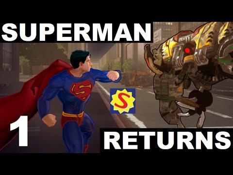 Superman Returns - Part 1 - Meteorites & WarWorld