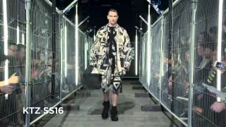KTZ SS16 at London Collections Men
