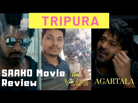 Saaho- Movie Review| Vlog|From Tripura| Agartala Rupashi Cinema Hall||