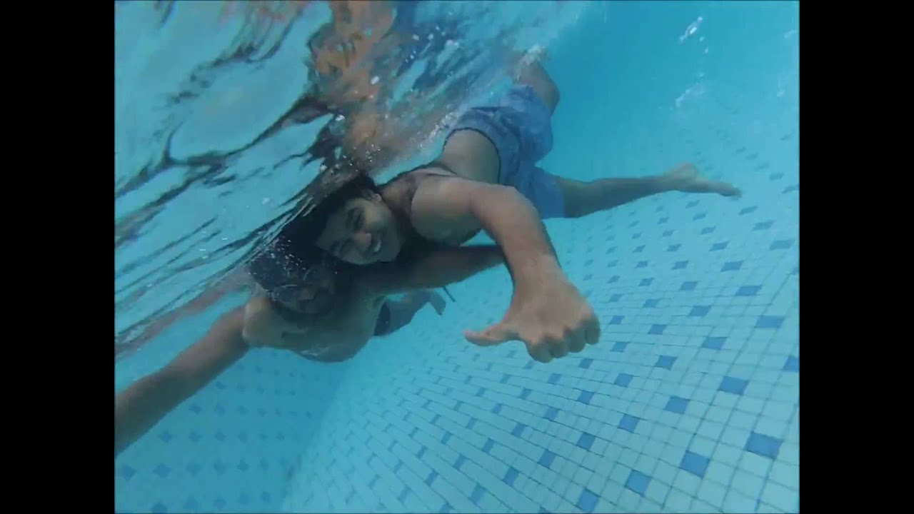 Fun With Action Cam Swimming Pool D Youtube