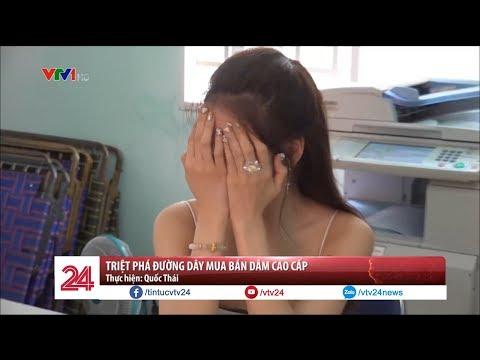 Triệt phá đường dây mua bán dâm cao cấp | VTV24