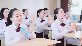 A cappella by the Choir of Xiamen No.6 High School