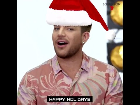 Image result for adam lambert happy holidays