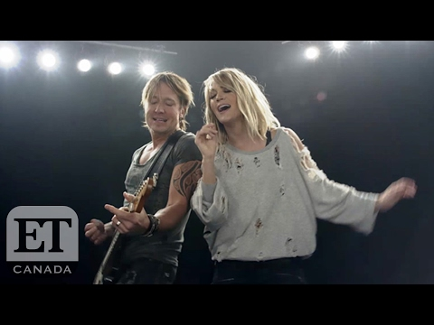Keith Urban And Carrie Underwood Duet On 'The Fighter'