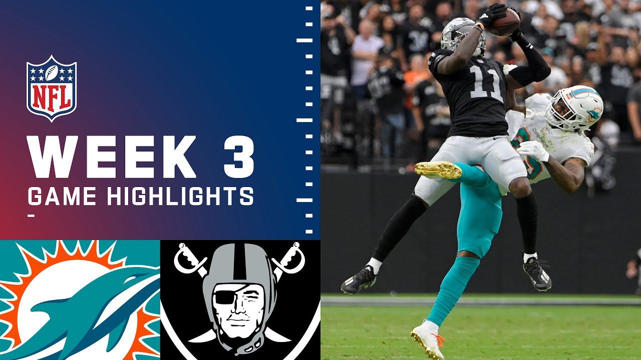 Dolphins vs. Raiders - Game Recap - September 26, 2021 - ESPN