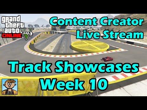 GTA Race Track Showcases (Week 10) [PC] - GTA Content Creator Live Stream