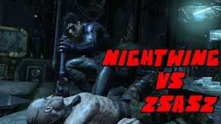 Video Batman Arkham City Nightwing VS Mr Zsasz Mod download MP3, 3GP, MP4, WEBM, AVI, FLV Mei 2018