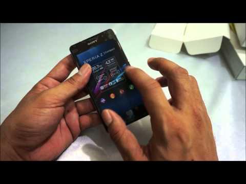 Review Sony Xperia Z1 Compact   Unbox รีวิว โซนี่ เอ็กซ์พีเรีย แซ่ดวันคอมแพ็ค  แกะกล่อง