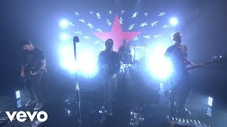 "U2 performs ""Bullet The Blue Sky"" for the Tonight Show audience. U2..."