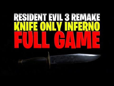 Resident Evil 3 Remake: Knife Only Inferno Difficulty