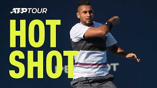 Hot Shot: Kyrgios Breaks Out The Tweener At Miami 2019 thumbnail