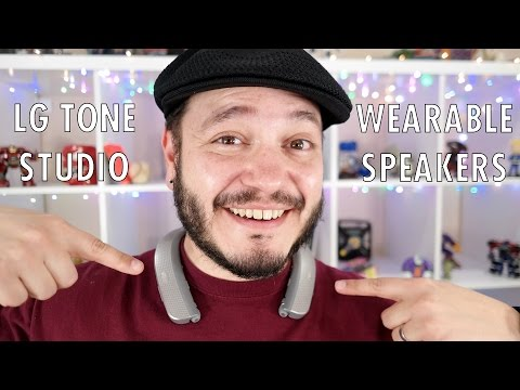 LG Tone Studio: Wearable wireless speakers...