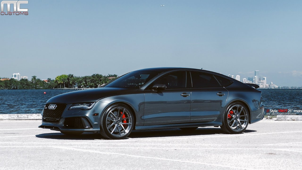 MC Customs | Vellano Wheels Audi RS7 - YouTube